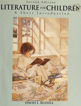 Cover of: Literature for children   Russell, David L.