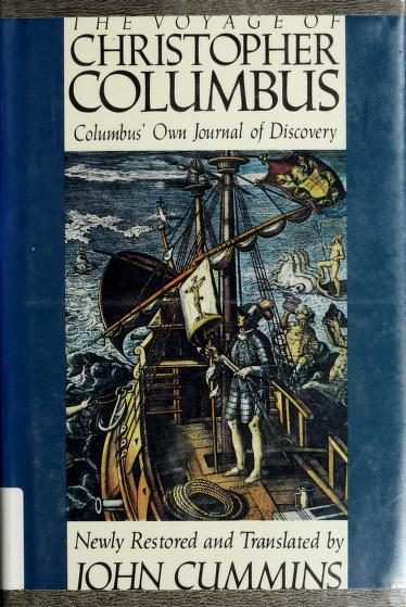 The Voyage of Christopher Columbus by John Cummins